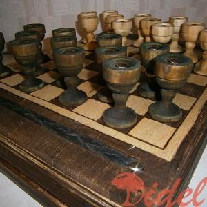 Деревянные шашки