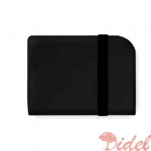 Artskilltouch ультратонкий кожаный кошелек черный