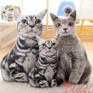 3D подушки Котики