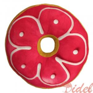3D подушка Пончик c Клубничной Глазурью