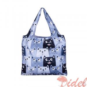 Складная сумка-шоппер Котики