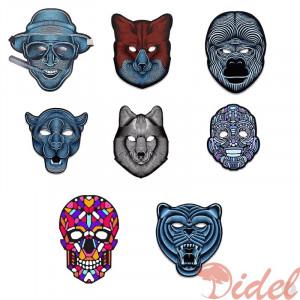 Cветовая маска с датчиком звука GeekMask