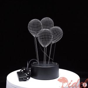 3D Светильник Воздушные шары