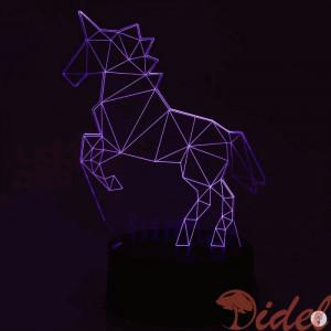 3D Светильник Единорог