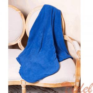 Флисовый Плед Темно-синий (джинса)