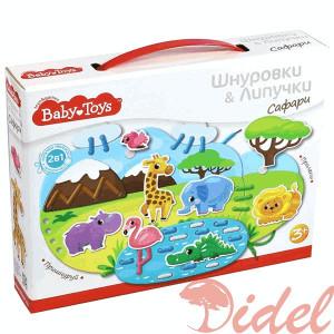 Развивающие игрушки для малышей Десятое Королевство