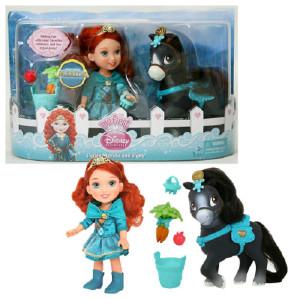 Кукла с питомцем Принцессы диснея